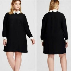 Victoria Beckham for Target Rabbit Collared Dress